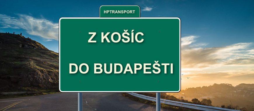 Transfer z Košíc na letisko v Budapešti