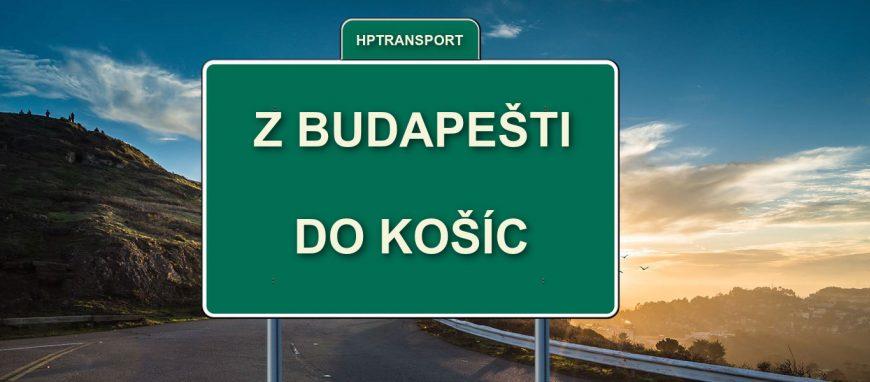 Transfer z letiska v Budapešti do Košíc